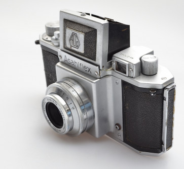 Asahiflex I with Takumar 3,5/50mm ca.1952 first type