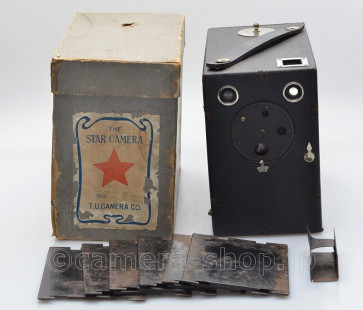 STAR BOX CAMERA by Uyeda, with rare formar BOX c1910