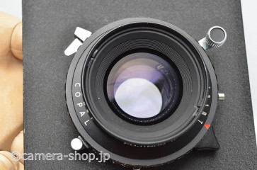 Fujinon WIDE lens 5.6/105 COPAL shutter with TOYOVIEW bord