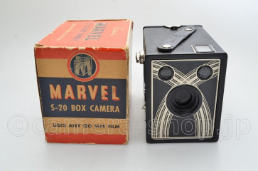 Sears MARVEL S-20 BOX CAMERA MADE IN U.S.A.