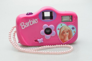 Barbie Pinky 35mm Toy camera with flash