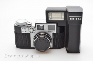 MINIMAX 110 EE Sugaya Optical Works 1978 Detatchable flash-unit