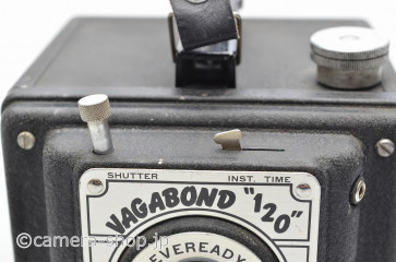 "UNITED STATES CAMERA CO. CHICAGO U.S.A. VAGABOND ""120"" EVEREADY FLASH ユナイテッドステイツカメラ社バガボンド"