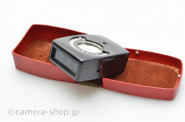 EAW FOTOLUX EXPOSURE METER CASE early model セレン式露出計EAWフォトルクス赤