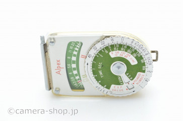 ALPEX SELENIUM EXPOSURE METER MADE IN JAPAN