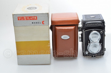 YASHICAFLEX MODEL C Later Version BOX CASE CAP