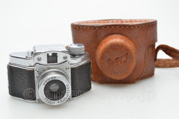 Konishiroku Snappy optor 3.5/25mm Japanese subminiature camera with case