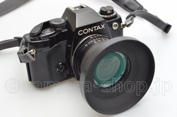CONTAX 159MM YASHICA LENS ML 2.8/28 FILTER HOOD STRAP