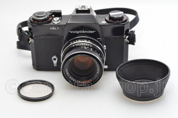 VOIGTLANDER VSL 1 COLOR-ULTRON 1.8/50 STRAP HOOD FILTER MANUAL