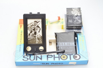 old toy camera BANDAI SUN PHOTO
