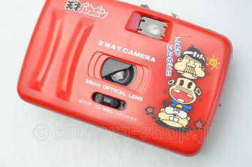 rare THE GENIUS Bakabon Take a picture CAMERA with Flash It's very great (article not for sale)