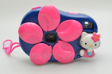 HELLO KITTY pinky flower bloom 135mm compact camera