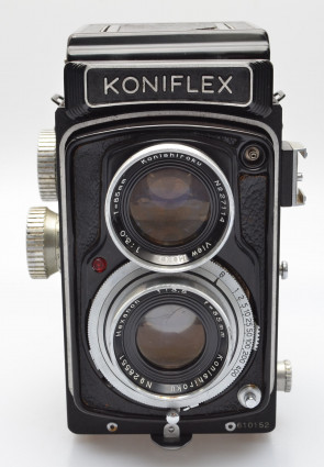 Konishiroku KONIFLEX II with Hexanon 85/3.5