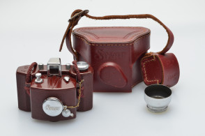 START 35 Junior S RARE red brown color Japanese sub miniature camera