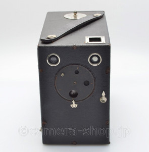 STAR BOX CAMERA by Uyeda, with rare formar BOX c1910 early Japanese box type