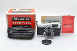 OLYMPUS TRIP 35 D.Zuiko 2,8/40, case,box,instruction