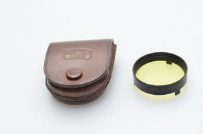 Carl Zeiss Jena Gelbglas B hell with case