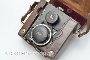 BENTZIN Primarette Jena Tessar 2.8/75mm 127roll Twin Lens camera 1931-1937