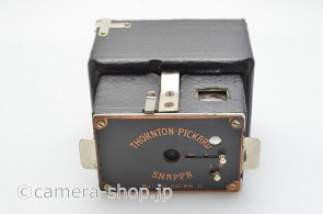 rare THORNTON-PICKARD SNAPPA 4.5x6cm ATOM wooden box typr camera c1913