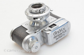 RUBIX FOR 16mm FILM PATENTS HOPE Anastigmat 3.5/25, magazine