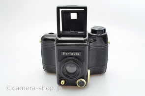 Perfekta bakelite camera made by VEB RHEINMETALL Germany 1953 6x6 120