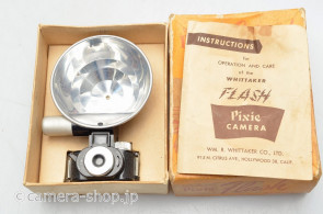 WHITTAKER FLASH Pixie CAMERA ca1950 16mm film use subminiature camera