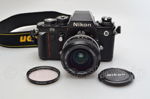 NIKON F3 NEW NIKKOR 2.8/24 CAP FILTER STRAP