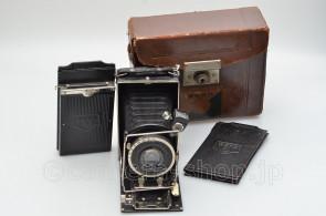 rare by Yamamoto WEHA LIGHT 6.5x9cm Heliostar Anastigmat Munchen 4.5/105 ca1930 case holders