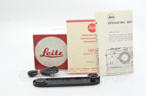 BASE PLATE for LEICA M4-2 M4-P M6 in Black