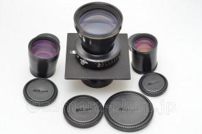 NIKKOR-T*ED 9/600 12/800 18/1200 Convertible rear lens COPAL 3 for SINAR