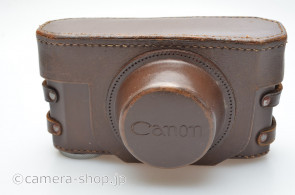 Canon leather case for IIB Brown