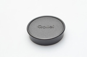 Rollei 46.5mm lens front cap by plastic made in Singapole
